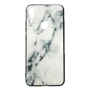 Чехол бампер Glass Case для Xiaomi Redmi Note 7 (White)