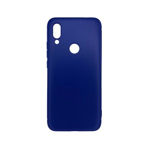 Силиконовый чехол Monarch Soft touch для Xiaomi Redmi Note 7 (blue)