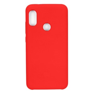 Силиконовый чехол Silky and Soft-Touch Xiaomi Redmi S2 (Red) (14)