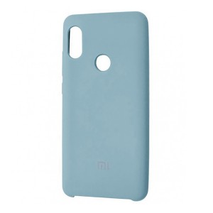 Силиконовый чехол Silky and Soft-Touch Xiaomi Redmi Note 7 (Blue Ocean) (21)
