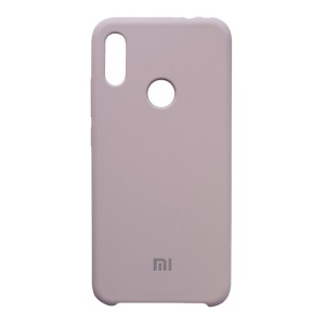 Силиконовый чехол Silky and Soft-Touch Xiaomi Redmi Note 7 (Lavender) (07)