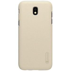 Чехол бампер NILLKIN Super Frosted Shield для Samsung J5 2017 (Gold)