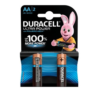 Батарейка Duracell LR6 (AA) BL2 Ultra Power (2шт)