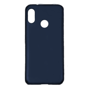 Силиконовый чехол Silky and Soft-Touch Xiaomi Redmi Note 7 (Dark Blue) (20)
