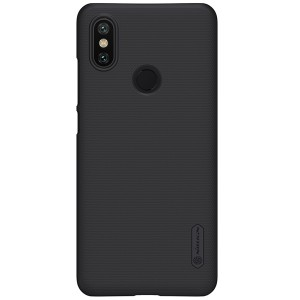 Чехол бампер NILLKIN Super Frosted Shield для Xiaomi Mi 6x / A2 (Black)