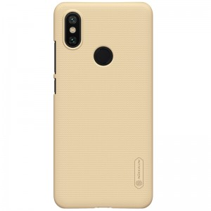 Чехол бампер NILLKIN Super Frosted Shield для Xiaomi Mi 6x / A2 (Gold)