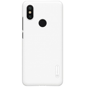Чехол бампер NILLKIN Super Frosted Shield для Xiaomi Mi 6x / A2 (White)