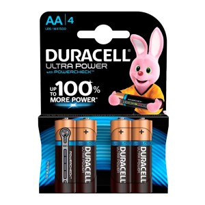 Батарейка Duracell LR6 (AA) BL4 Ultra Power (4шт)