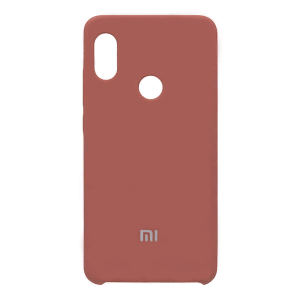 Силиконовый чехол Silky and Soft-Touch Xiaomi Redmi Note 7 (Deep Red) (33)