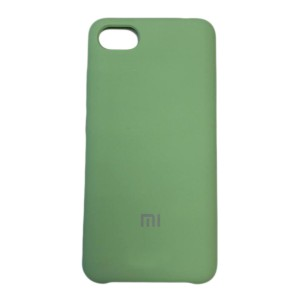 Силиконовый чехол Silky and Soft-Touch Xiaomi Mi 6X / A2 (Green) (01)