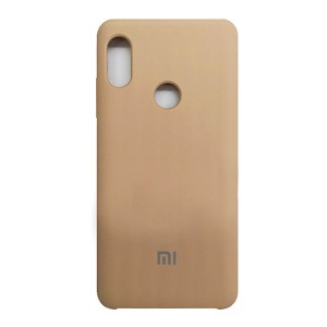 Силиконовый чехол Silky and Soft-Touch Xiaomi Mi 6X / A2 (Gold) (28)