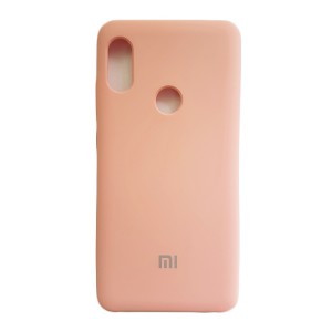 Силиконовый чехол Silky and Soft-Touch Xiaomi Mi 6X / A2 (Pink) (06)