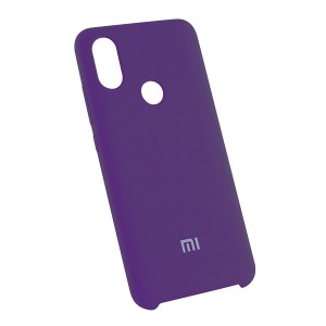 Силиконовый чехол Silky and Soft-Touch Xiaomi Mi 6X / A2 (Purple) (30)