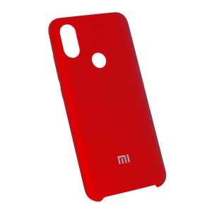 Силиконовый чехол Silky and Soft-Touch Xiaomi Mi 6X / A2 (Red) (14)