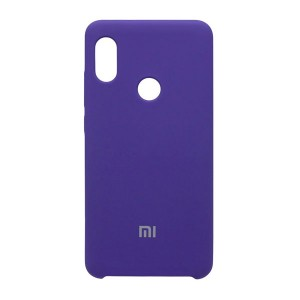 Силиконовый чехол Silky and Soft-Touch Xiaomi Redmi Note 7 (Purple) (5)