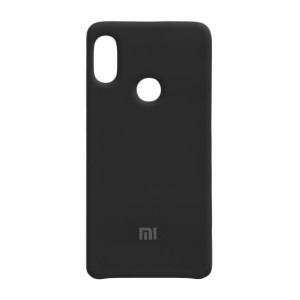Силиконовый чехол Silky and Soft-Touch Xiaomi Mi 6X / A2 (Black) (18)