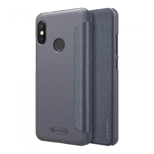 Чехол книжка NILLKIN Sparkle leather case для Huawei Honor 8X (Gray)