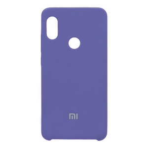 Силиконовый чехол Silky and Soft-Touch Xiaomi Redmi Note 7 (Blue) (03)
