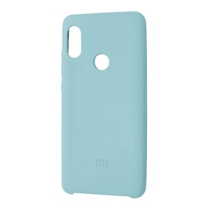 Силиконовый чехол Silky and Soft-Touch Xiaomi Redmi Note 7 (Lilac) (05)