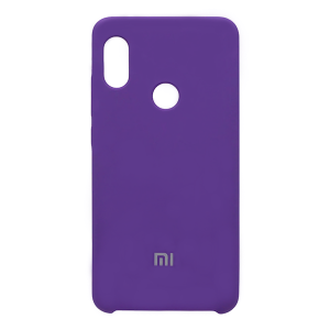 Силиконовый чехол Silky and Soft-Touch Xiaomi Redmi Note 7 (Purple) (30)