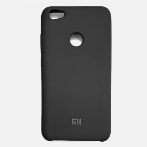 Силиконовый чехол Silky and Soft-Touch Xiaomi Redmi Note 5A Prime (Dark Gray)