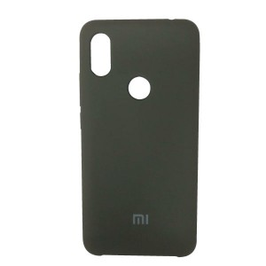 Силиконовый чехол Silky and Soft-Touch Xiaomi Redmi S2 (Brown Gray) (41)