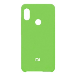 Силиконовый чехол Silky and Soft-Touch Xiaomi Redmi Note 7 (Green-Yellow) (31)