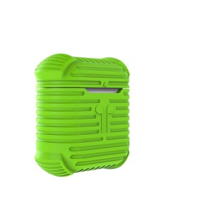 Силиконовый чехол для AirPods i-Smile Silicone Protective Case (Green)